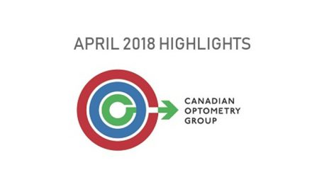 Canadian Optometry Group: April 2018 Highlights