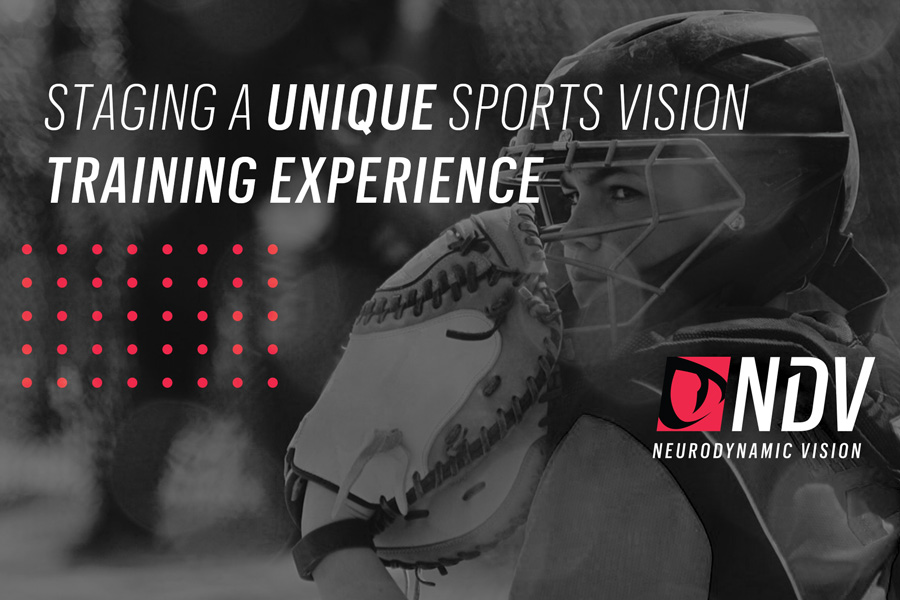 Staging a Unique Sports Vision Training Experience