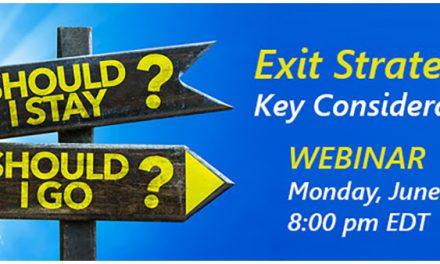 Should I Stay or Should I Go? Live Webinar on Exit Strategies for ODs